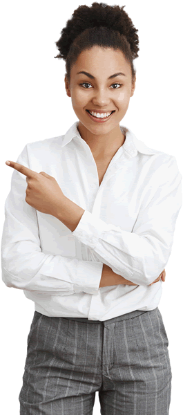 sassy-african-american-businesswoman-showing-way-pointing-upper-right-corner-smaller